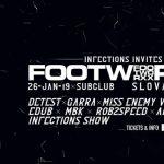 Infections invites // Footworxx Slovakia 2019 // 18+