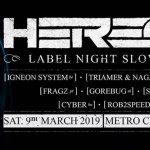 Savage Tales invites Heresy Recordings – 9 March Sala, Metro