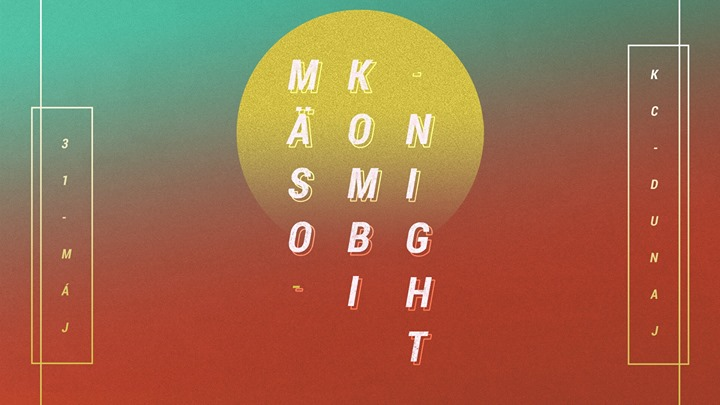 Mäsokombinight w/ Zed Bias (UK), L Plus, VI3E • 31.5. @KC Dunaj