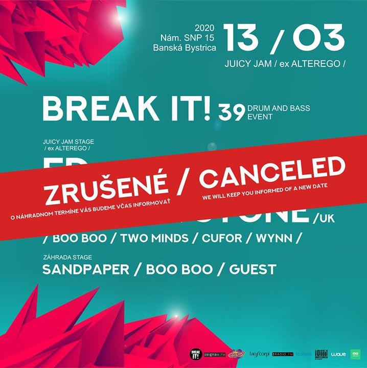 BREAK IT! 39 w. FD /UK x GERRA & STONE /UK